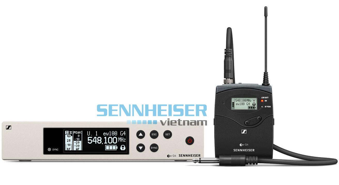 Bộ thu và phát Sennheiser EW 100 G4-CI1